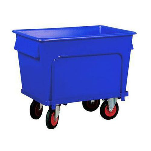 Heavy Duty Plastic Containers with Steel Dollies