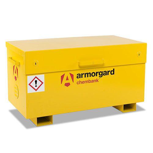 Armorgard COSHH Chemical Storage Chembank Cabinet 660x1275x665mm