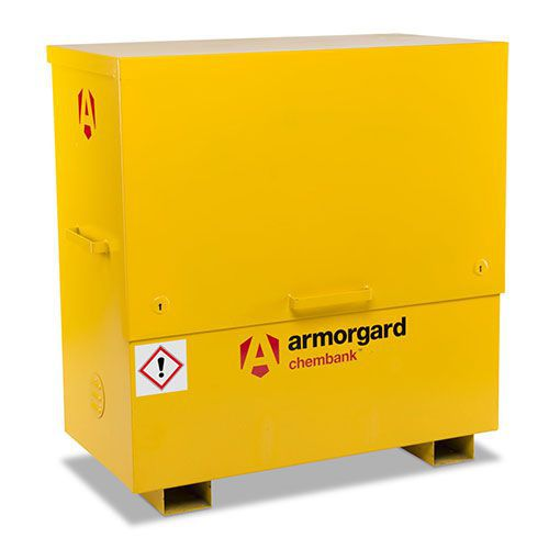 Large Armorgard COSHH Chemical Storage Chembank Cabinet
