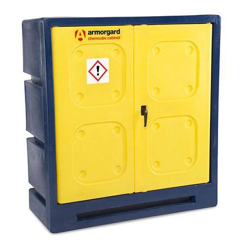 Armorgard COSHH Plastic Hazardous Storage Chemcube Cabinet