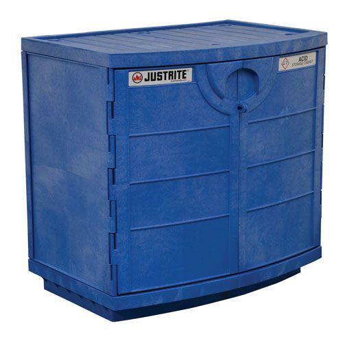 Justrite COSHH Under Counter Corrosive Chemical Storage Cabinet