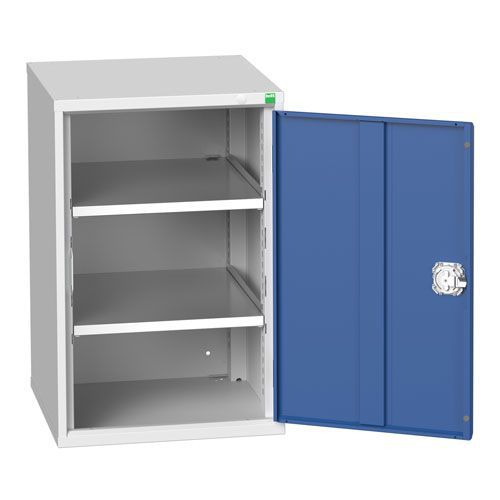 Bott Verso 2 Shelf Metal Storage Cupboard WxD 525x550mm