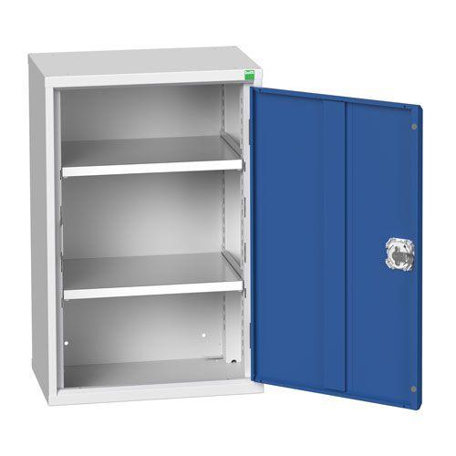 Bott Verso 2 Shelf Metal Storage Cupboard WxD 525x350mm