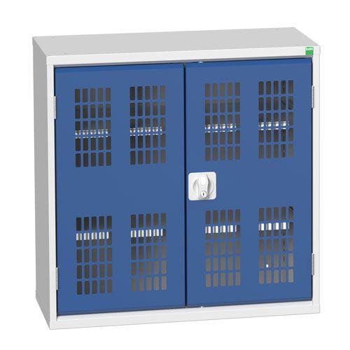 Bott Verso 2 Shelf Ventilated Metal Storage Cupboard WxD 800x350mm