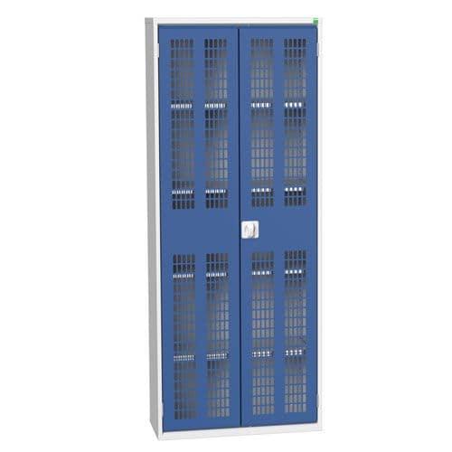 Bott Verso 4 Shelf Ventilated Metal Storage Cupboard HxW 2000x800mm