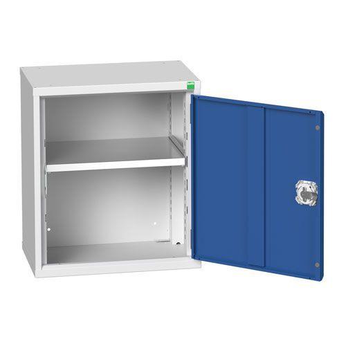 Bott Verso 1 Shelf Wall Mounted Metal Cabinet HxW 600x525mm