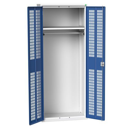 Bott Verso Ventilated PPE Cupboard With 1 Shelf HxW 2000x800mm