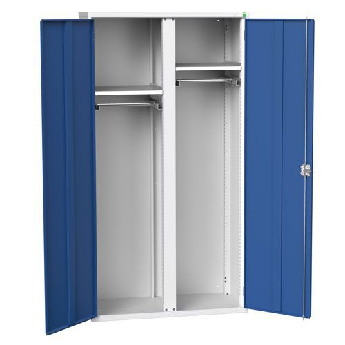Bott Verso Partitioned Multi-Shelf PPE Cabinet HxW 2000x1050mm