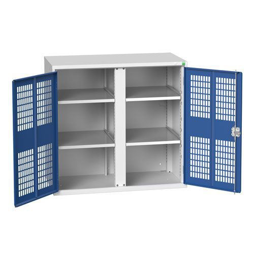 Bott Verso 4 Shelf PPE Cupboard HxW 1000x1050mm