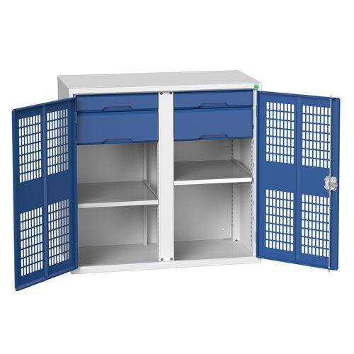 Bott Verso Shelf/Drawer Ventilated PPE Metal Cabinet HxW 1000x1050mm