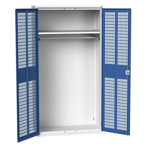 Bott Verso Ventilated PPE Metal Cabinet With Shelves HxW 2000x1050mm