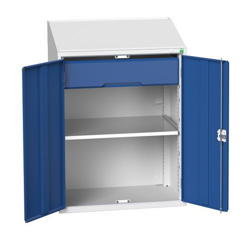 Bott Verso Lectern Metal Cabinet With Shelf And Drawer HxW 1130x800mm