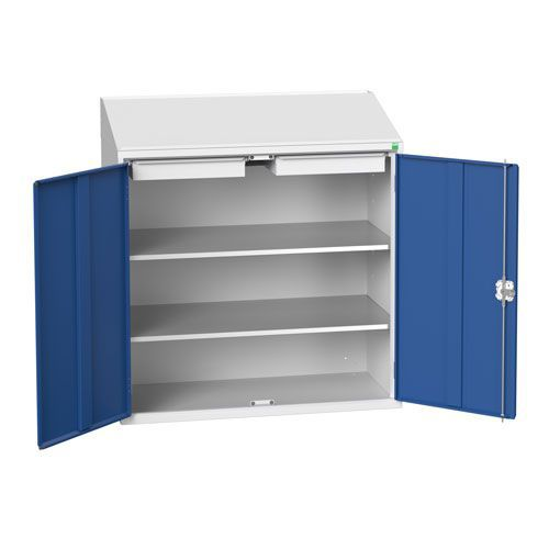 Bott Verso 2 Drawer And Shelves Lectern Metal Cabinet HxW 1130x1050mm