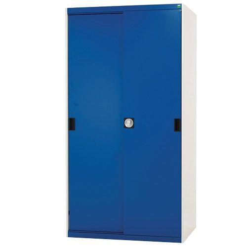 Bott Cubio Sliding Door Metal Storage Cabinet HxW 1600x1050mm