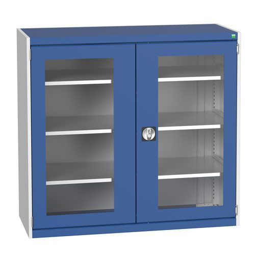 Bott Cubio Metal Cabinet With Vision Doors 1200x1300mm