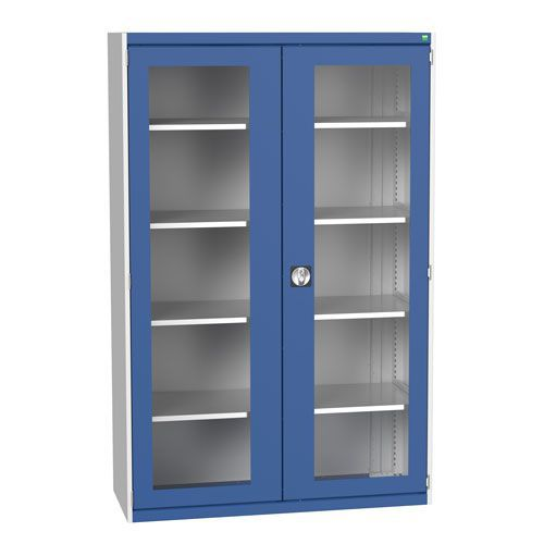 Bott Cubio Metal Cabinet With Vision Doors 2000x1300mm