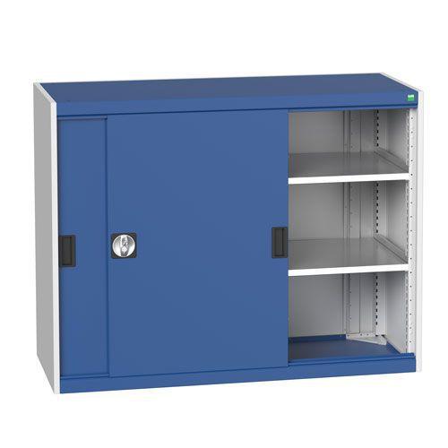 Bott Cubio Sliding Door Metal Storage Cabinet HxW 1000x1300mm
