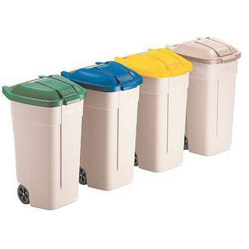 Rubbermaid Waste Separation Bins - 100L