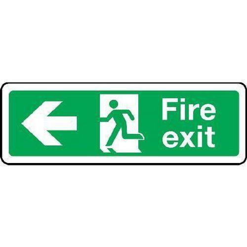 Fire exit Sign - Arrow Left