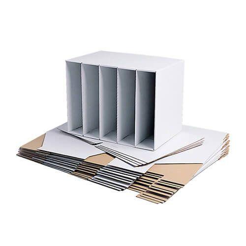 Cardboard File Holders - Pack of 10