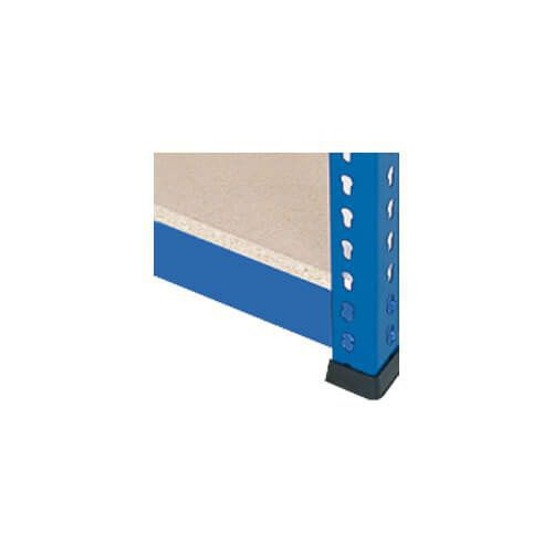 Chipboard Extra Shelf for 2134mm wide Rapid 1 Heavy Duty Bays- Blue