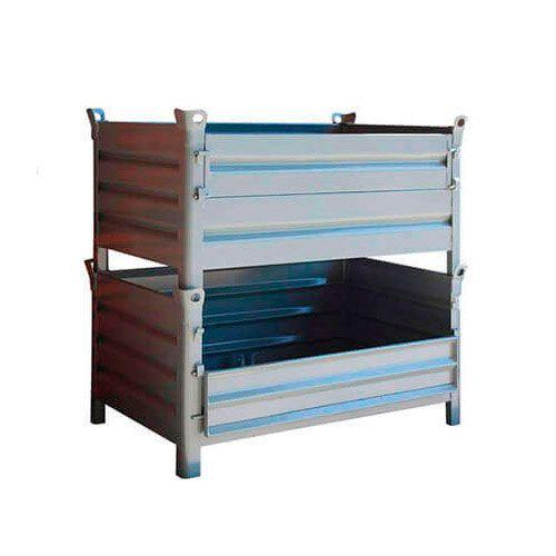 Half Drop Front Steel Pallets