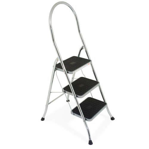 3 Step Chrome Stepstool