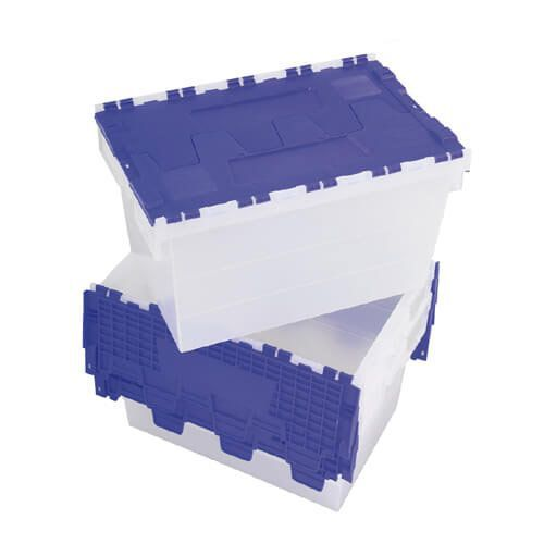 Clear Distribution Container - Integral Lid