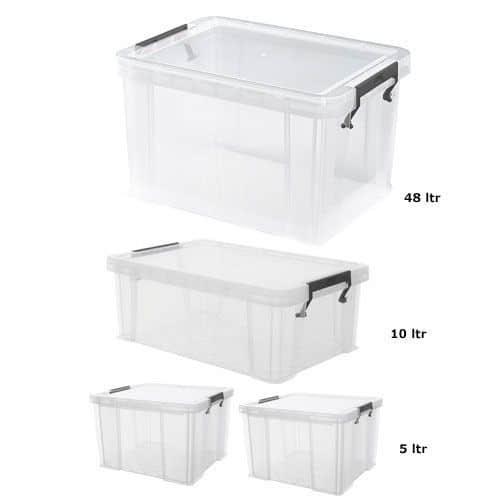 Allstore 4 Box Set Offer 48ltr + 10ltr + 2x5ltr