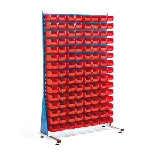 Single Sided Rack (1000w) With Bins