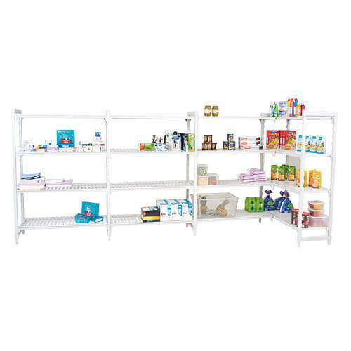 Cambro Shelving (1700h x 1600w) With 4 Solid Shelves