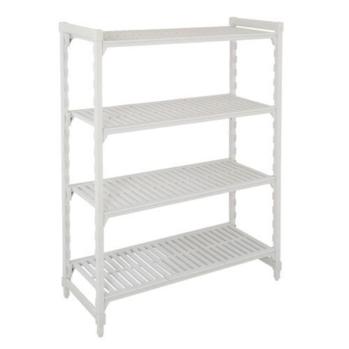 Cambro Shelving (1800h x 1200w) With 4 Solid Shelves