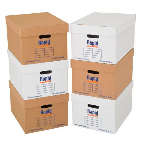 Document Storage Boxes - Pack of 20