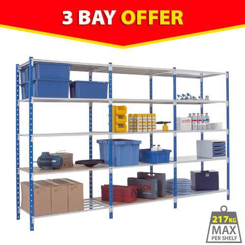 3 Tubular Bay Offer (2000h) 1 Starter Bay & 2 Add On Units