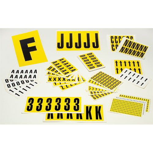 Self Adhesive Numbers Multi-Pack