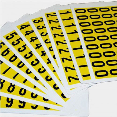 Self Adhesive Numbers - 19mm high