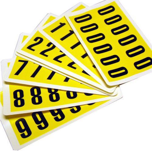 Self Adhesive Numbers - 38mm high