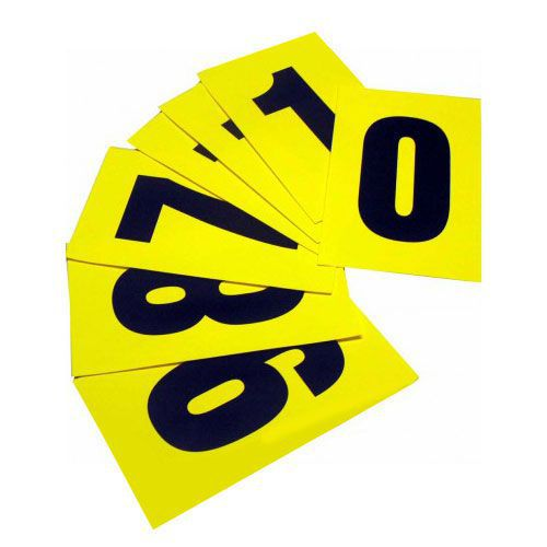 Self Adhesive Numbers - 230mm high