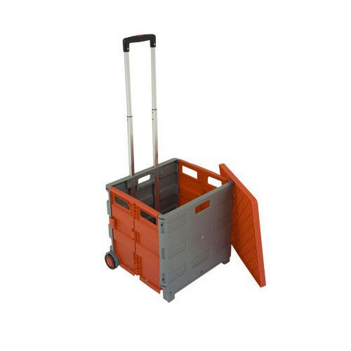 Folding Box trolley with lid
