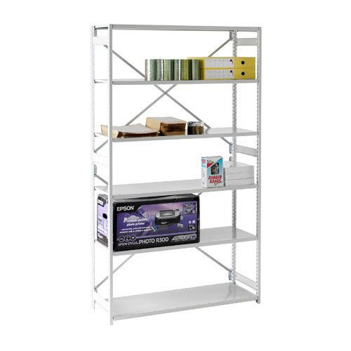 Closed Back Stormor Duo Shelving (2450h x 9000w)