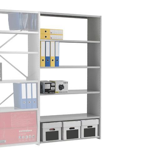 Stormor Solo Shelving Add-on Bays (1850h x 1250w) With Open Back