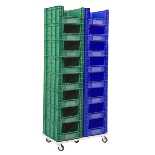 Mobile Stack of 16 Small Containers (36 litre capacity)