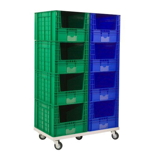 Mobile Stack of 8 Large Containers (97 litre capacity)