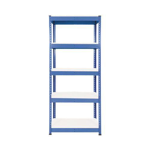 Rapid 1 Heavy Duty Shelving (1980h x 915w) Blue - 5 Melamine Shelves