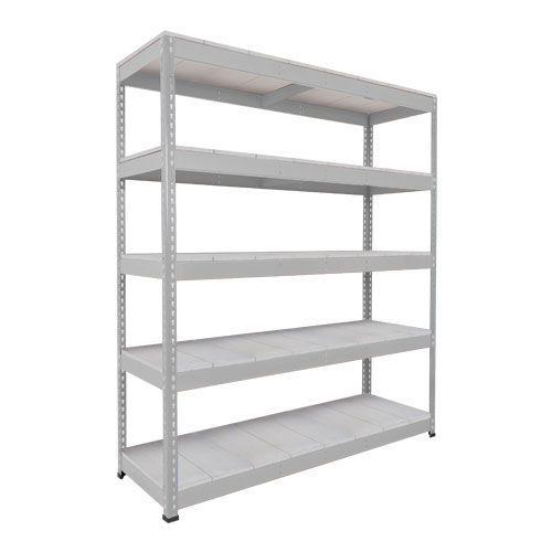 Rapid 1 Heavy Duty Shelving (2440h x 1525w) Grey - 5 Galvanized Shelves