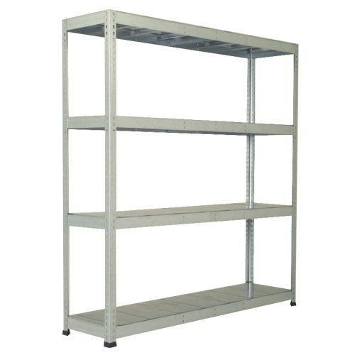 Rapid 1 Heavy Duty Shelving (1980h x 1830w) Galvanized - 4 Galvanized Shelves