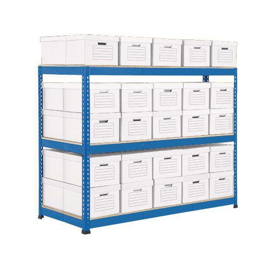 50 Boxes Rapid 1 Double Sided Archive Storage