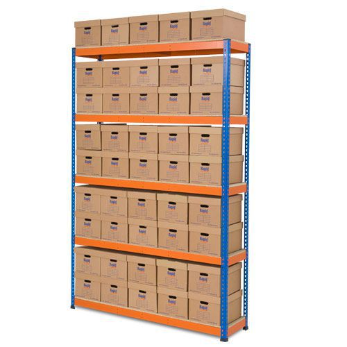 Rapid 1 Single Sided Archive Storage with 45 Boxes