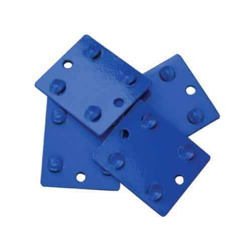 Rapid 1 Light Tie Plates - Pack of 4