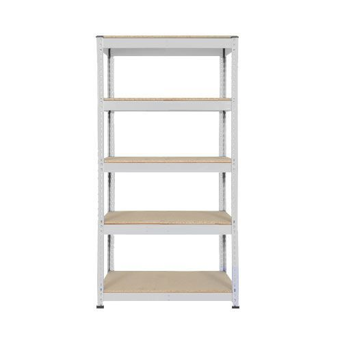 Rapid 1 Shelving (1980h x 915w) Grey - 5 Chipboard Shelves